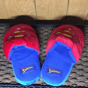 Superman house slippers